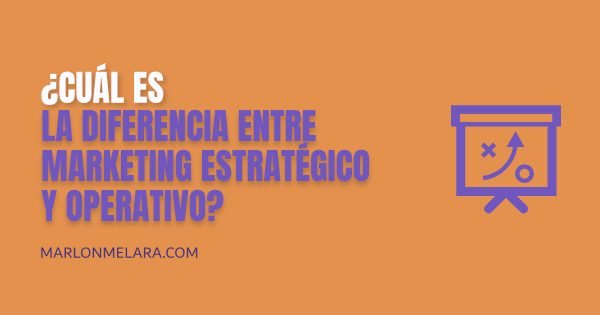 MARKETING ESTRATEGICO Y OPERATIVO